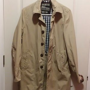 American Eagle Outfitters Trench Jacket